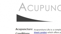 Joomla showcase acupuncturelife.co.uk