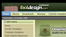 Joomla showcase iboldesign.com